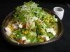 豆腐と水菜のヘルシーサラダ