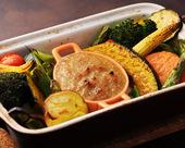 焼き野菜のバーニャカウダー