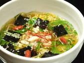 愛媛産真鯛の鯛麺