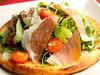 イタリア産プロシュートハムのサラダピザ