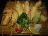 雲仙鶏の天ぷら盛合せ
