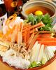 ズワイ蟹のしょうゆ仕立て鍋