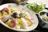 日本海の幸がたっぷり入ったちらし寿司御膳