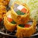 春野菜とおばんざいの湯葉巻きかつとヒレかつ膳