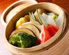 温野菜の蒸しセイロサラダ