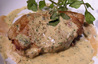 放牧豚ロースソテー ゴルゴンゾーラソース