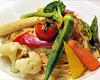 十種の野菜たっぷりペペロンチーノ