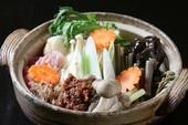 山菜味噌鍋