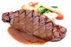 リブロースのステーキ