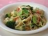 白魚と春野菜のパスタ