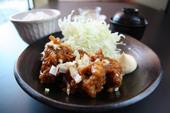 若鶏の唐揚げ甘酢あんかけ定食