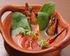有頭海老とタイハーブの辛いスープ