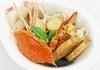 新鮮魚介のトマトスープ煮