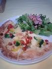 ハーフピッツァ&サラダプレート
