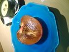 手の平サイズの奈良産柿です^/^