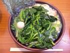 「塩ラーメン」650円+「ほうれん草」100円