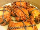 蒸し上海蟹(鳳凰コースで頂いたもの)
