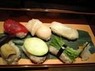 にぎり鮨とお野菜のお寿司