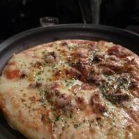 いかゲソのピザ