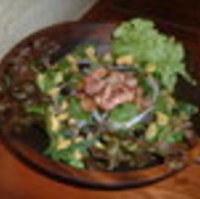 ホーレン草とベーコンのサラダ