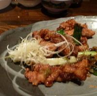 大山鶏の柚子胡椒焼
