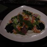カニとエビの海鮮サラダ