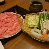 和牛霜降肉美味しかったです♪〆は中華麺をいただきましたぁ♪