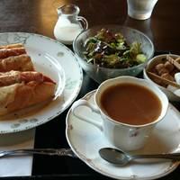 エメラルドマウンテン(coffee)+ホットドッグモーニング
