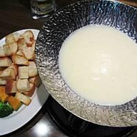 とろ~りチーズのチーズフォンデュ