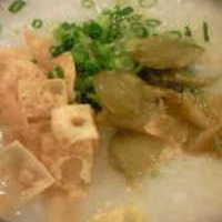 鶏肉粥 (蒸鶏)
