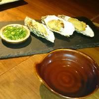 牡蠣の焼き天麩羅