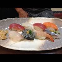 近海にぎり寿司(かに汁付)