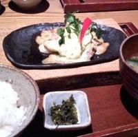 本日の日替わり魚御膳