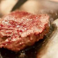 極上国産牛 ヒレ肉鉄板焼き