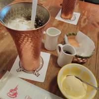 バニラアイス&クッキー&アイスコーヒーが付いて980円!!本当にお値打ちランチです〜!
