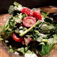 つぼみ菜とルッコラのサラダ