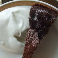 チョコレートファッジケーキ