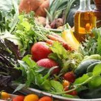 オーガニック生野菜の盛り合わせ