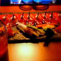 本マグロのカルパッチョ 菜園風+他いろいろ