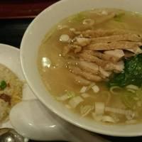 【Eセット】鶏そばと半チャーハンセット