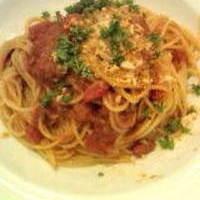 シチリア風いわし煮込みのスパゲティ