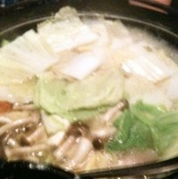 塩ちゃんこ鍋コース