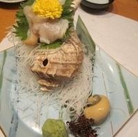 活つぶ貝刺身