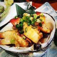 赤貝のバター焼き