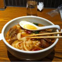 豚バラ肉の角煮麺