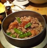 桜姫鶏のとり釜飯