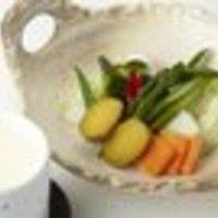 蒸野菜の農園チーズフォンデュ