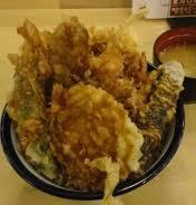 国産野菜天丼