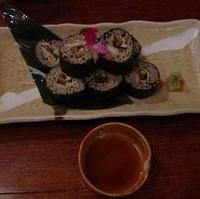 穴子の蕎麦寿司