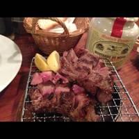1)極上厚切り炭火焼 2)牛タン中トロ厚切炭火焼